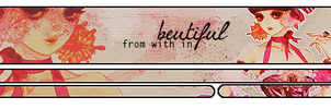 Beautyful From With In Signature by X001S