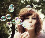 Bubbles and bokeh by ByLaauraa