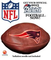 2015 Patriots Football by medek1