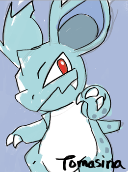 Nidorina by RepeatingNumbers