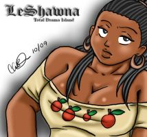 Total Drama Divaz: LeShawna by blwhere