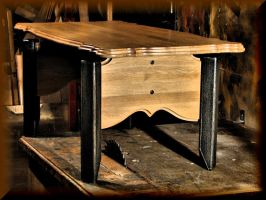 Low oak table... by Yancis
