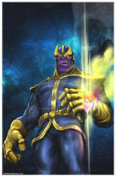 Thanos by bgarneau