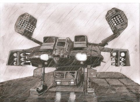Aliens Dropship and APC by Slayerlane