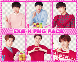 EXO-K Png Pack by Angelicapark