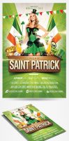 Saint Patricks Day Party Flyer by saltshaker911