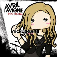 Avril Lavigne: What The Hell by NickyToons