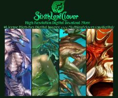 High Res Digital Download Store by The-SixthLeafClover