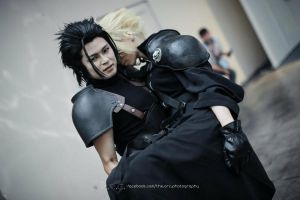 Zack Fair X Cloud Strife by Akira0617