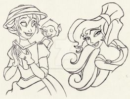Jane and Megara by PrinceSsCarmilla
