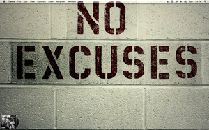 No Excuses by datboyct