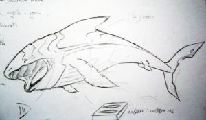 leviathan sketch by neronin