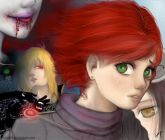 Between The Hell And Heaven [Redraw] by hiyoK0