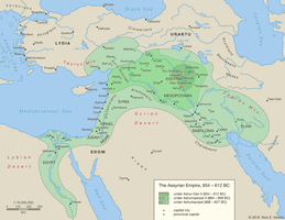 The Assyrian Empire, 934 - 627 BC by Undevicesimus