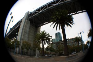 Under the Bay Bridge. by shftwings
