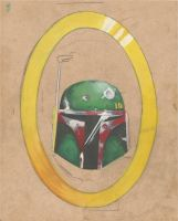 Boba Fett WIP by MonochromeVisions