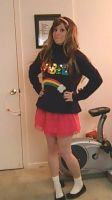 mabel's light up sweater! AGAIN by Kitty-Gizmo