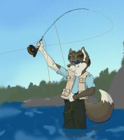 Fly Fishing by Doxial