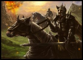 Knight Riders by JPlatt17