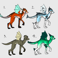 Dragon Adopts~ Open by Ariokkii-Adopts