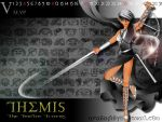 The 12 Titans : THEMIS by anemoneploy