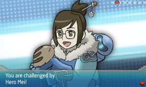 Overwatch Heroes and their Pokemon -- Mei