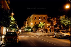 Terracina at night - IV by blue-crystall