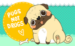 Pugs not Drugs by fuses