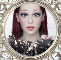 Doll Face Speed Art by Juli-SnowWhite
