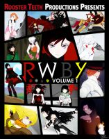 RWBY Volume 1 Poster by DanTherrien101