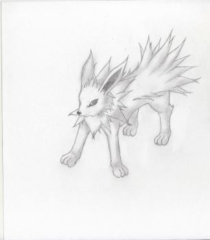 Jolteon Sketch by Xtremesonic