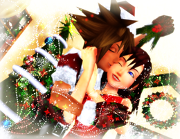 MMDKH~Mistletoe Kisses~ SoKai ~ REQUEST 1/1 by XxChocolatexHeartsxX