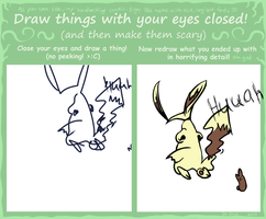 Eyes Closed Meme - Paku by Dragnia