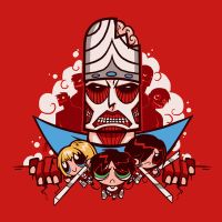 Attack On Townsville - Mojo Version by drawsgood