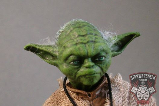 Jedi Master Yoda 6 in. Black Series Action Figure by starwarsgeekdotnet