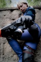 Jill Scaling the Wall by EmeraldCoastCosplay