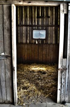 Horse Stable (HDR) by dynamiteboy8