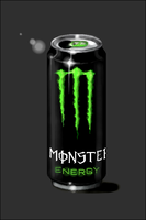 Monster Energy Drink by ebonred