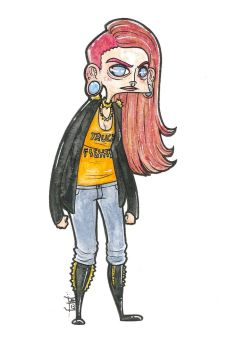 PunkGirl by AlyssaMAcket