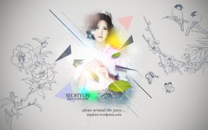 Seohyun Wallpaper :: Alone in the jassy... (ver. 2 by DJYoora