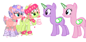 [Open Collab]What Pretty Flowers by Gothamed