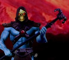 Skeletor Overlord of Evil by planetbryan