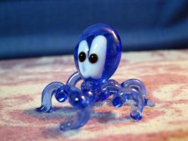 Glass Octopus by LightningIsMyName