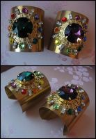 Sailor Galaxia's bracelets - V.2 by Space-Invader