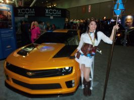 Hextech Janna Cosplay at PAX East 2012 by neocoolstar