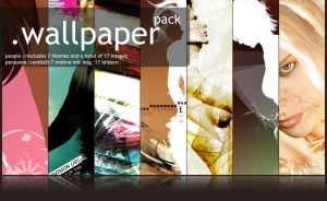 Wallpaper-Pack - People by MadPotato