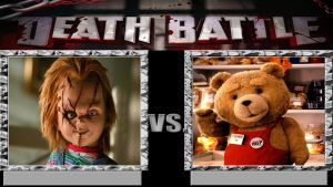 Chucky Vs Ted by Normanjokerwise