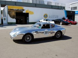 Aston DB4 GT Zagato POLISHED by Partywave