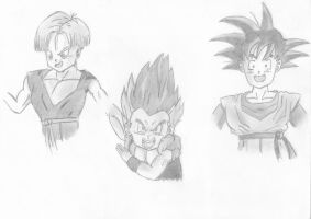 Trunks Goten by clearlytheoptimal