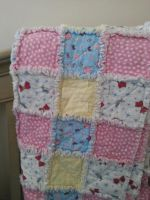 Sailor Moon Rag Quilt by inaligrimalkin